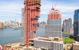 OMA's Greenpoint Landing towers top out in Brooklyn
