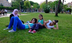 In Beirut, a grassroots push for more grass