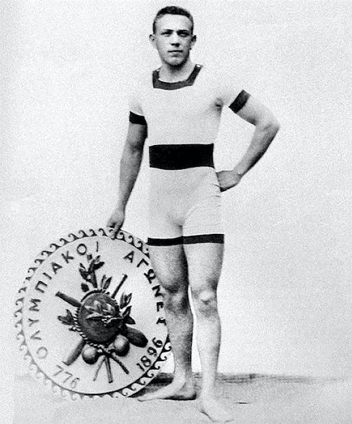 Alfréd Hajós, a Hungarian athlete and architect, won medals in two Olympic competitions: sport (swimming) and architecture (together with Dezső Lauber, a tennis player) at the 1924 Paris Olympic Games. Only two individuals have so far achieved this triumph.