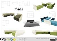 ROMBO modular sofa