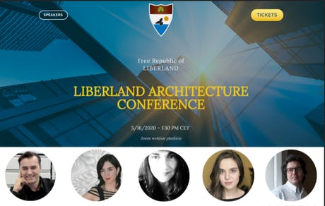 Raya Ani from RAW-NYC Architects is speaking at LIBERLAND ARCHITECTURE CONFERENCE this Saturday, May 16, via Zoom.. For more information: https://lnkd.in/gmH_xBF Speakers: Vít Jedlička, Patrik Schumacher, Raya Ani , Daniela Ghertovici, Vera Kichanova, and Sergio Bianchi. Liberland Design Competition 2020 will be launched at the conference. The competition website will go live on May 16... stay tuned.... #Liberland #ArchitectureConference #FreeRepublic #speakers #UrbanDesign #Architecture...