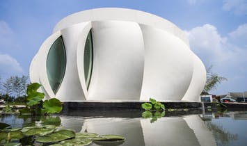 The Lotus House Explores the Potential of 3D Printing for Sustainable Construction