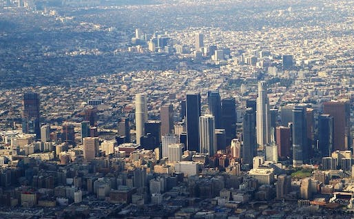 Downtown LA's parking requirements are set to disappear. Image courtesy of Flickr user Ron Reiring.