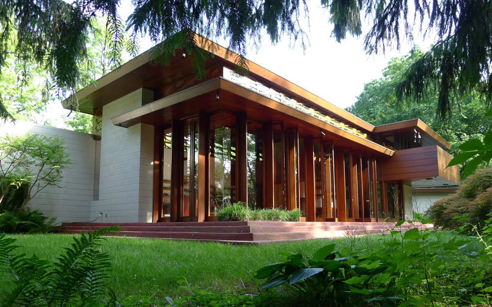 How Frank Lloyd Wright's Bachman Wilson House was moved