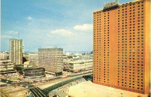 Hotel Forum, 1975. Warsaw, Polish PR. Image: FUEL.