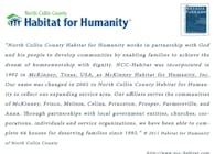 House Design volunteering in Habitat for Humanity