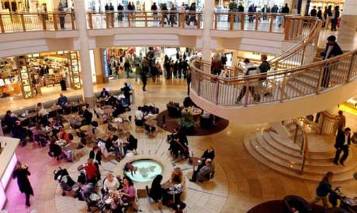 The Bluewater shopping centre in Kent. Photograph: Martin Godwin for the Guardian