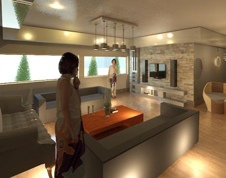Interior Design...Das Wohnzimmer