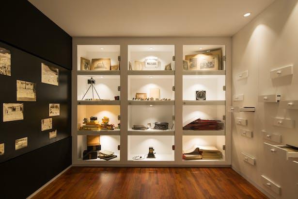 permanent exhibition area: room C
