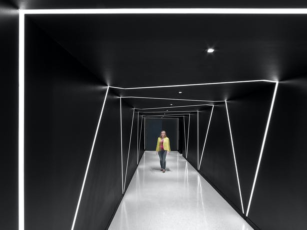 Experience corridor on floor 28.