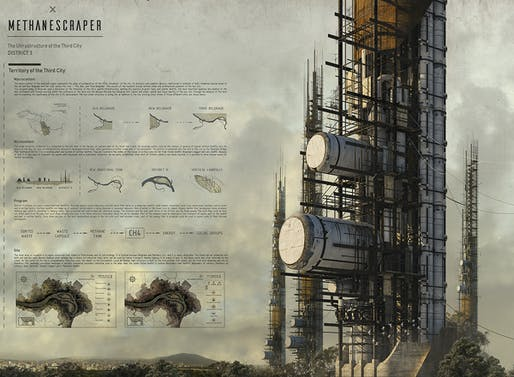 ​1ST PLACE: METHANESCRAPER ​by Marko Dragicevic | Serbia