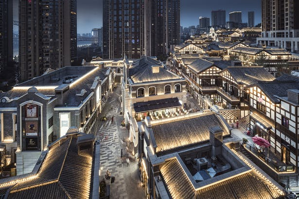 Chongqing Landmark Riverside Danzishi Old Street