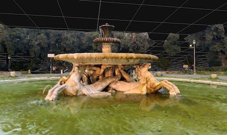 Photogrammetry -Villa Borghese (Rome)