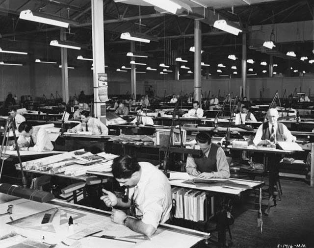 Vintage photos remind of the profession before AutoCAD | News