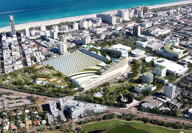 Tishman South Beach Ace Revised Aerial Plan Image Oma