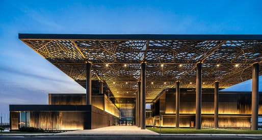 2015 LEAF Awards - Public Building of the Year: Dakar Congress Center by Tabanlioglu Architects Melkan Gursel & Murat Tabanlioglu. Image courtesy of LEAF Awards.