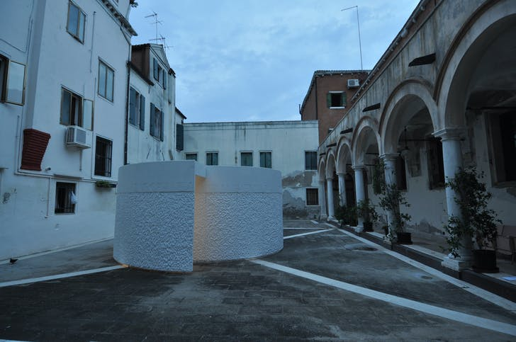 Transient Gallery in Venice. Credit: Murdo McDermid.