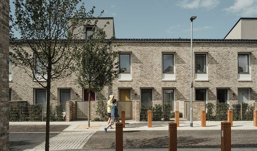 Mikhail Riches and Cathy Hawley win the 2019 Stirling Prize for their Goldsmith Street housing project