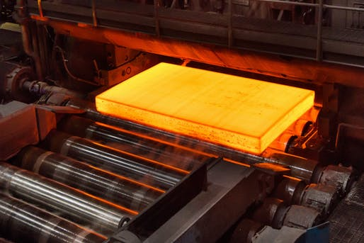 HYBRIT group produces world's first fossil-free steel. All images: SSAB