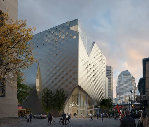 Rendering of the proposed Glenbow Museum update. Image courtesy DIALOG