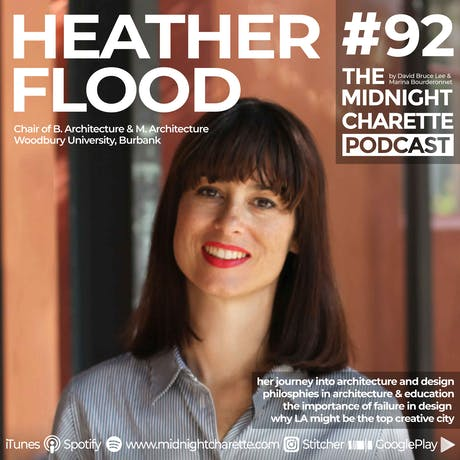 Interviewed Heather Flood Chair of Architecture at Woodbury U. - Podcast #92