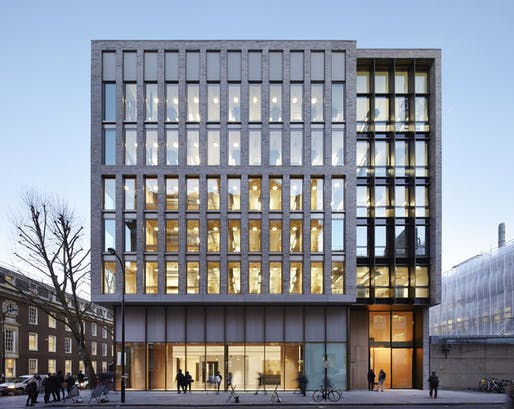 University College of London's Bartlett School of Architecture. Image: The Bartlett School of Architecture, Hawkins\Brown.