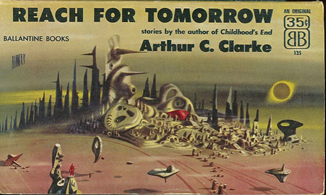 imaginary renderings of alien worlds from the 50s-60s via Eric Chavkin
