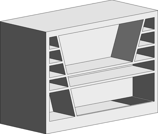 Parametric family: TV stand