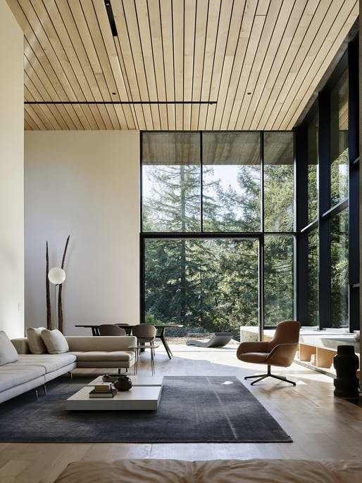 "<a href=""https://archinect.com/faulknerarchitects/project/miner-road"">Miner Road</a> in Orinda, CA by <a href=""https://archinect.com/faulknerarchitects"">Faulkner Architects</a>; Photo: Joe Fletcher"