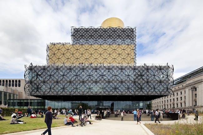 West Midlands: Library of Birmingham by Mecanoo. Photo: Mecanoo