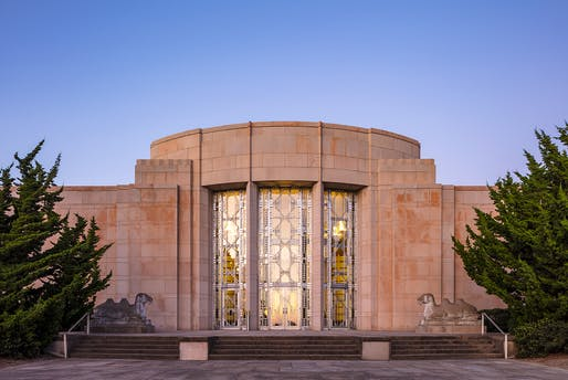 The preserved 1930s Art Deco facade of the Seattle Asian Art Museum. Photo: © Tim Griffith