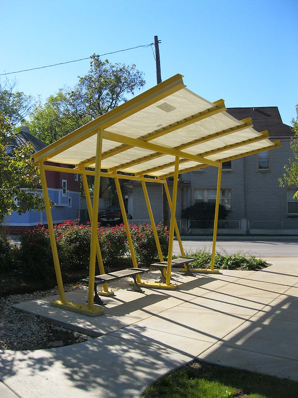 Highland Community Greenspace Shade Structure From