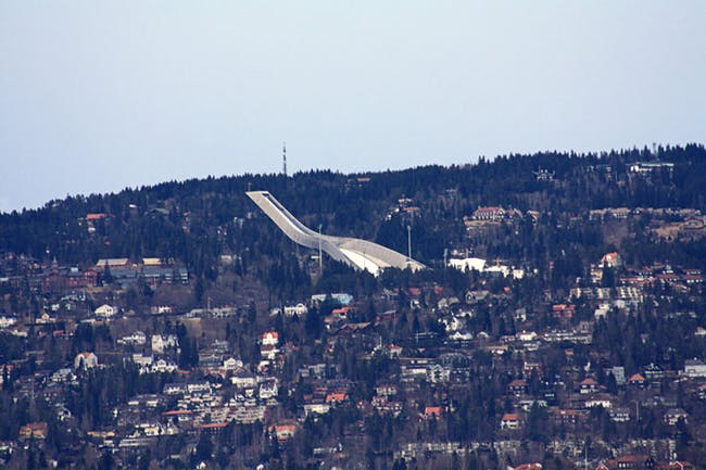 Holmenkollen Ski Jump designed by JDS Architects