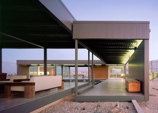 Desert House by Marmol Radziner. Photo: Benny Chan.