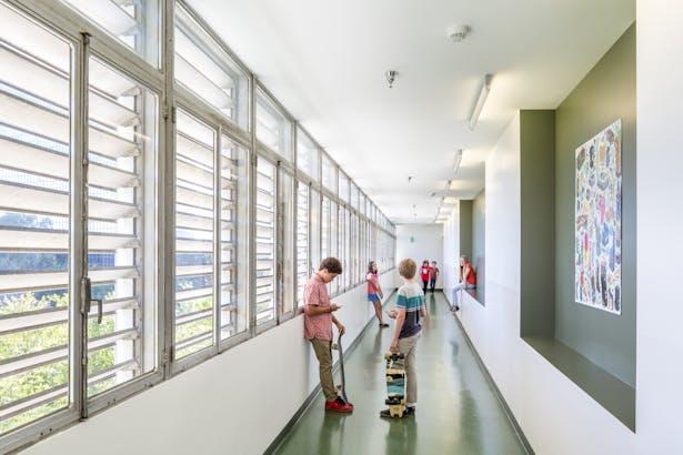 third floor 'gallery' © Nico Marques
