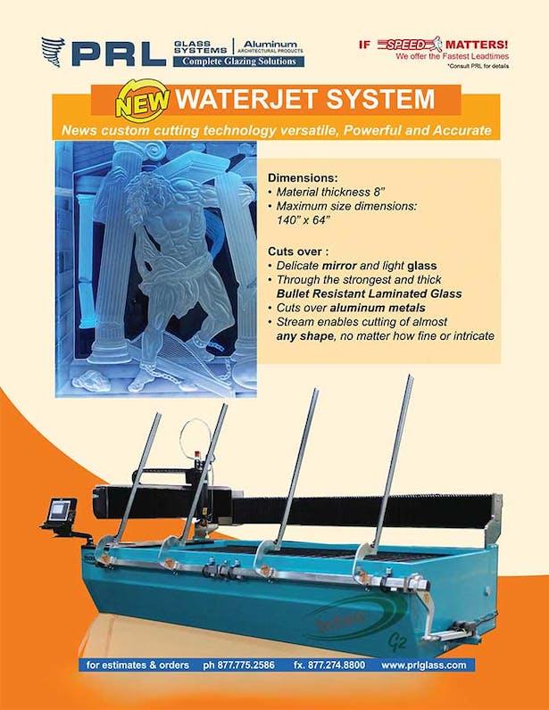 Waterjet cutting system