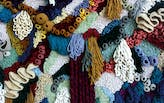 Rugs and Textiles go Vertical as Wall Art