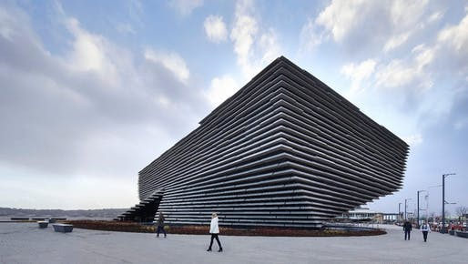 The V&A Dundee Museum set to open September 15th, 2018. Photo by Hufton+Crow