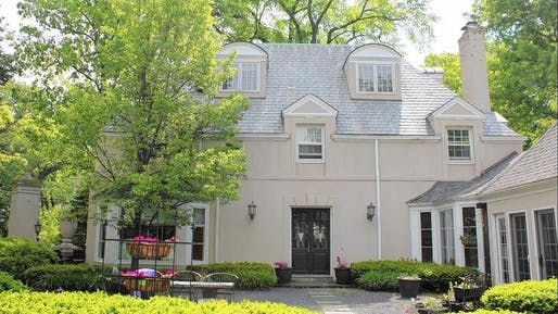 Winnetka officials recently issued a permit to tear down a circa-1920 home known as the Gate Lodge. The house was designed by renowned Chicago architect Andrew Rebori. (Handout / image via chicagotribune.com)