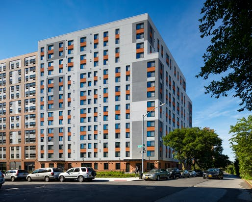 The Bronx - Park Avenue Green project. Photo courtesy of Curtis + Ginsberg Architects.