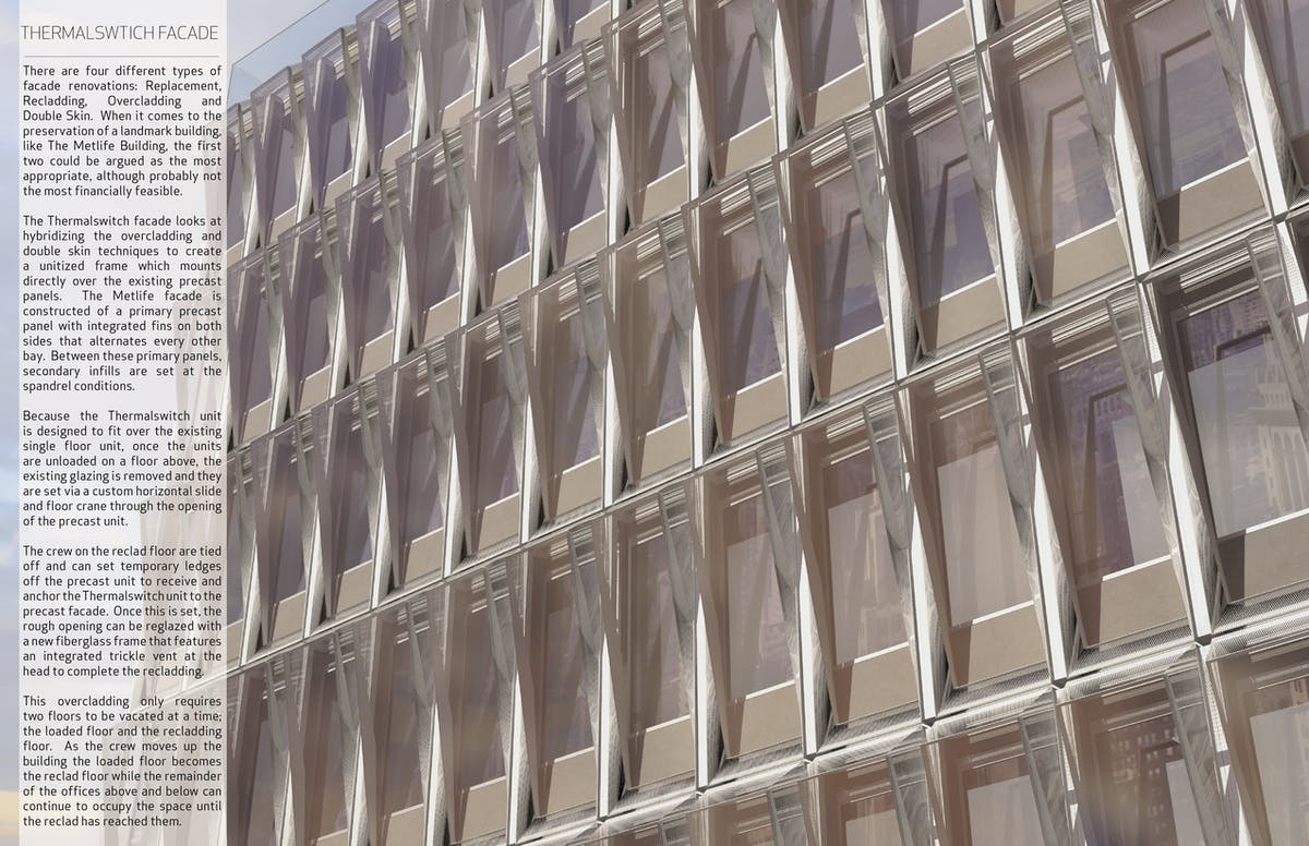 Thermalswitch Facade | STUDIOTJOA | Archinect