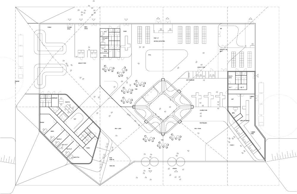 Ben Van Berkel Unstudios Design For The New Kutaisi Airport In