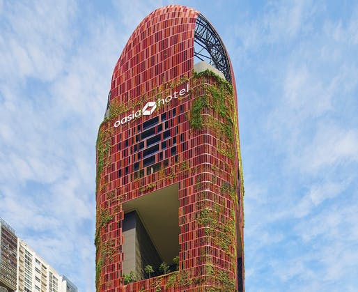 Oasia Hotel Downtown. Photo courtesy of CTBUH.