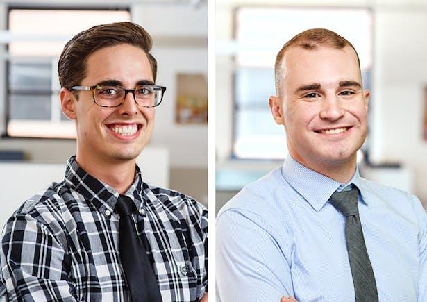 The Lighting Practice's John Howell and Evan Wilson have been promoted to Lighting Designer II