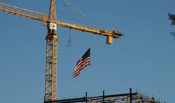 US economy is now in a recession as economic activity, including construction, grinds to a halt