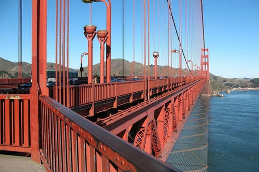 Since the iconic Golden Gate Bridge opened in 1937, nearly 1,700 people have jumped to their deaths from it. The rendering above shows the proposed steel net barrier. Photo: Golden Gate Bridge, Highway and Transportation District.