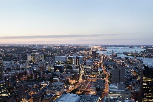 West City skyline at dusk. Photo credit: Adrien Williams.