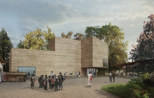 Extension project of the Fondation Beyeler by Atelier Peter Zumthor. Courtesy Atelier Peter Zumthor & Partner
