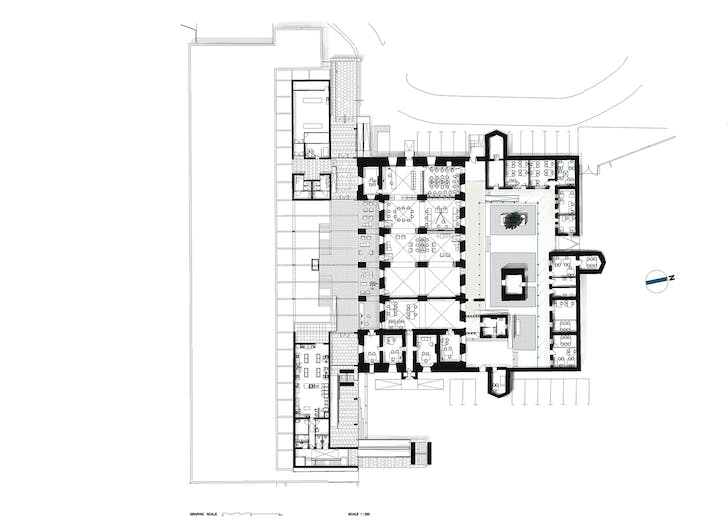 Plans for the basement and ground floor