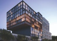 Issac & Stern Designs Cantilevered Luxury Condo in Harlem